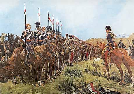 Light Brigade Roll Call After Battle of Balaklava