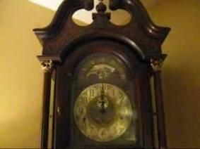 Ridgeway Grandfather Clock built in 1981 St. Michael's Chime