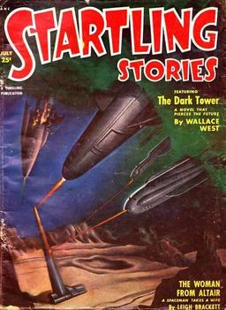 "Startling Stories July 1951, containing ""The Woman From Altair"""