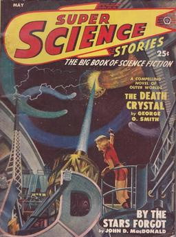 Super Science Stories, May 1950, with """"