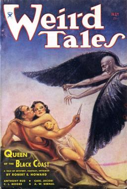 Weird Tales May 1934 Queen of the Black Coast-small