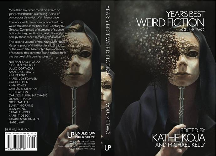 Year's Best Weird Fiction Volume Two wrap-small