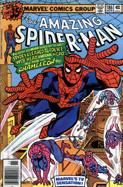 The Amazing Spider-Man #186