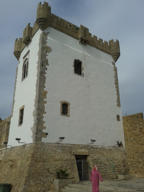 Part of the defenses put up by the Portuguese in Asilah during their brief occupation in the 15th century.
