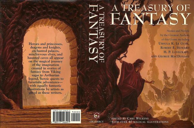 A Treasury of Fantasy-small