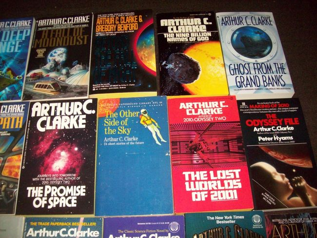 Arthur C. Clarke paperback collection 2-small