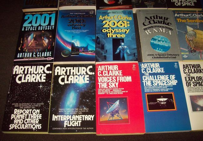 Arthur C. Clarke paperback collection 3-small