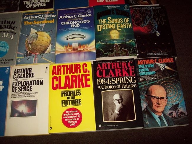 Arthur C. Clarke paperback collection 4-small