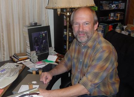 Frederic S. Durbin at work