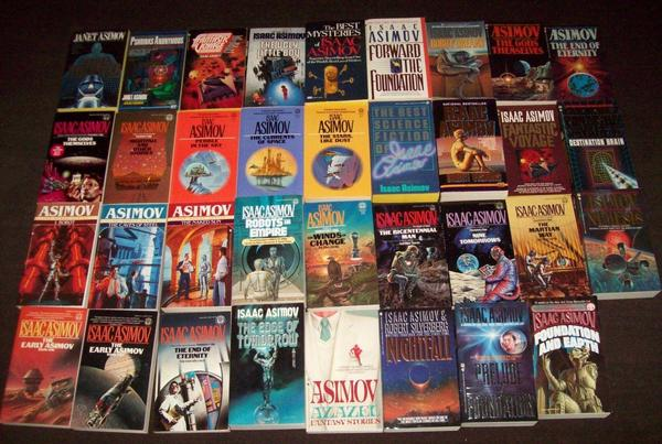 Isaac Asimov collection-small