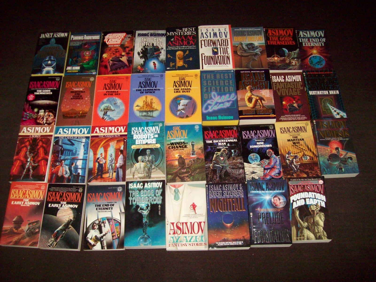 the life and works of isaac asimov a science fiction writer