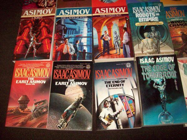 Isaac Asimov paperbacks 3-small