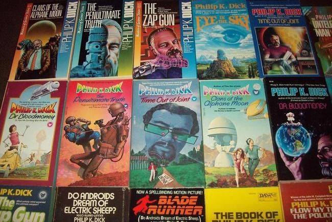 Philip K Dick paperback collection $536 2-small