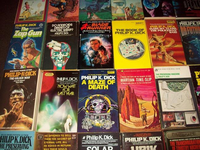 Philip K Dick paperback collection $536 3-small