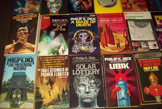 Philip K Dick paperback collection $536 7-small