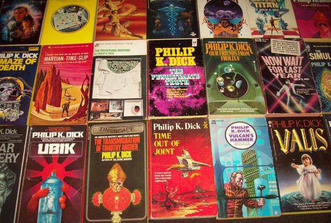 Philip K Dick paperback collection $536 9-small
