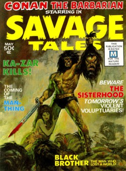 SavageTales1-Buscema