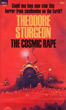 The Cosmic Rape, Dell 1968. Cover by Paul Lehr.