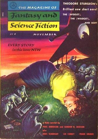 The Magazine of Fantasy and Science Fiction November 1955-small