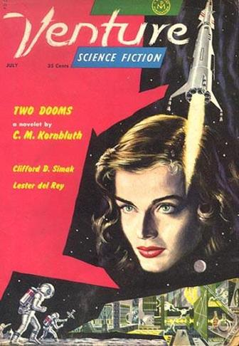 Venture Science Fiction Magazine July 1958-small