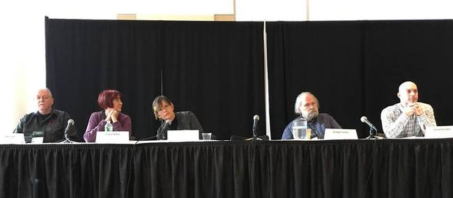 World Fantasy Convention 2015 Detectives in fantasy panel-small