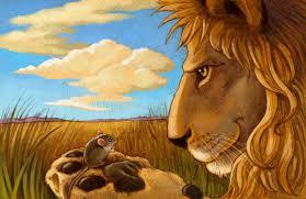 fable lion mouse