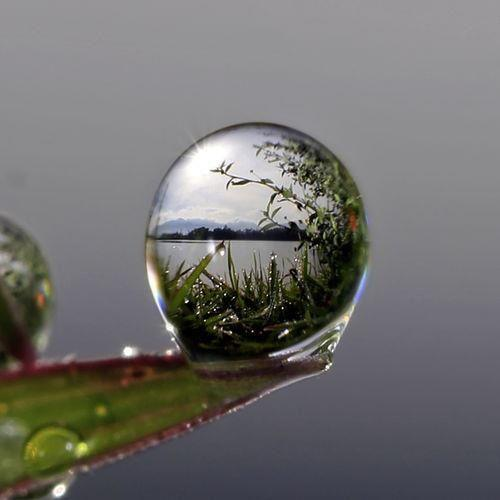 water drop POV