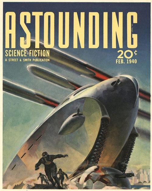 Astounding February 1940 Hubert Rogers-small