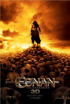 This Conan is sad because of his lack of fleshy heads.