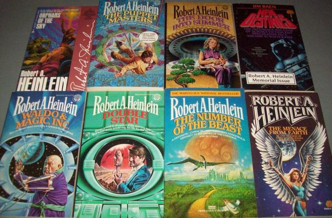 Robert A. Heinlein paperbacks 4-small