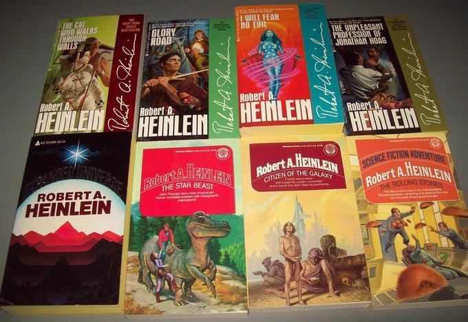 Robert A. Heinlein paperbacks 5-small