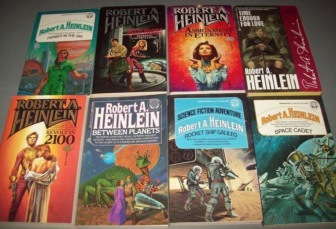 Robert A. Heinlein paperbacks 6-small
