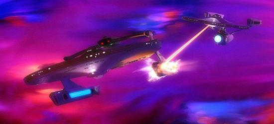 Star Trek II The Wrath of Khan battle