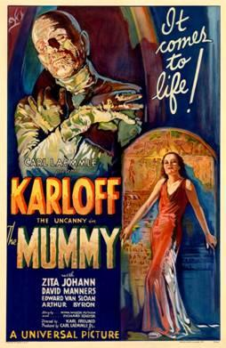 The Mummy movie poster-small