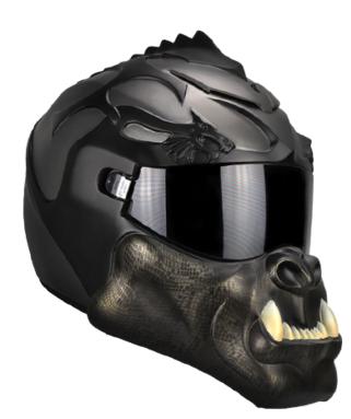 The Orc Helmet