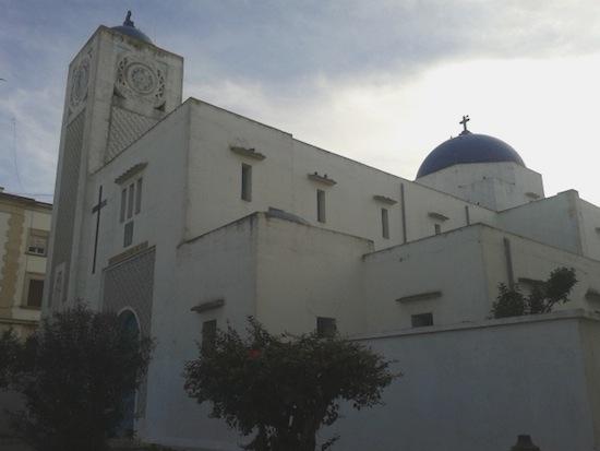 Iglesia de Nuestra Señora del Pilar, built in the 1920s.