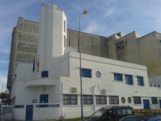 The Spanish consulate is in this funky Art Deco building.