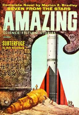Amazing Science Fiction Stories March 1960-small