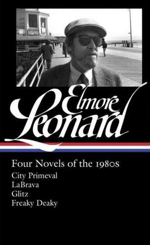 Elmore Leonard Four Novels of the 1980s-small