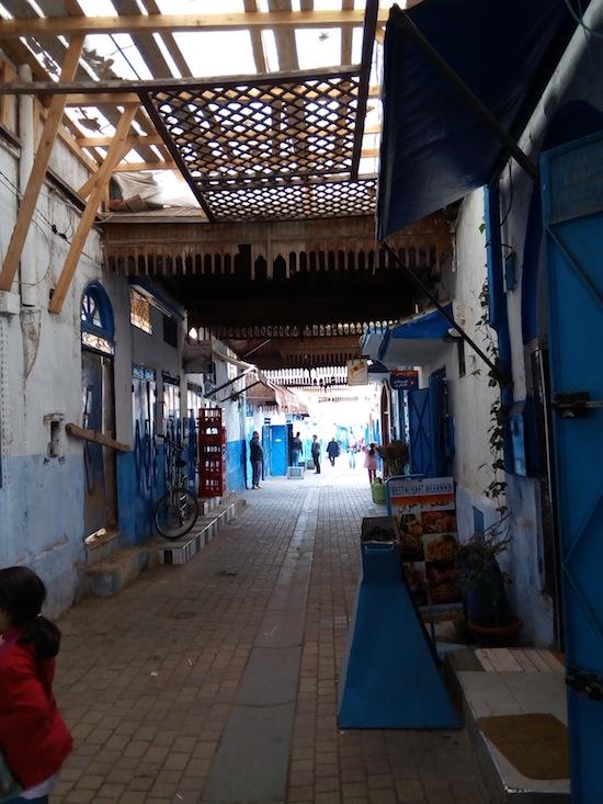 The medina. Photo courtesy Almudena Alonso-Herrero.