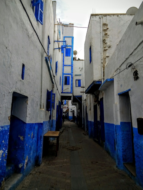 Another shot of the medina. It was a bit past noon and it was mostly abandoned, everyone having gone off to lunch. Photo courtesy Almudena Alonso-Herrero.