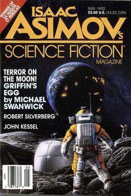 Isaac Asimov's Science Fiction Magazine May 1992-small