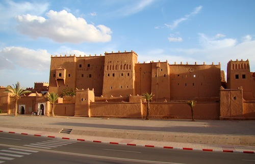 One of the Casbahs of T'hami El Glaoui in Ouarzazate. Photo courtesy Bjørn Christian Tørrissen.