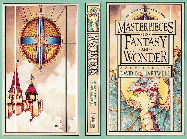 Masterpieces of Fantasy and Wonder wraparound