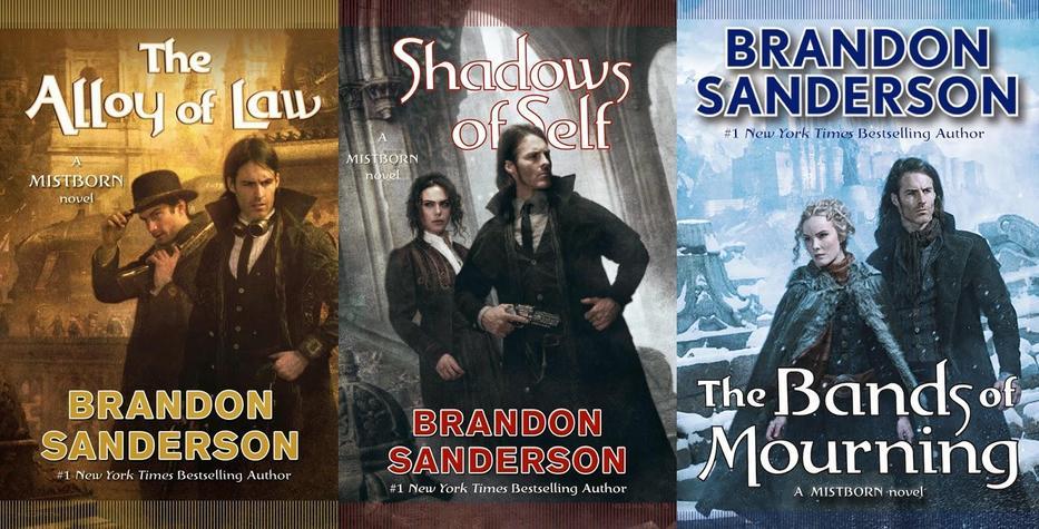 Mistborn novels Brandon Sanderson-small