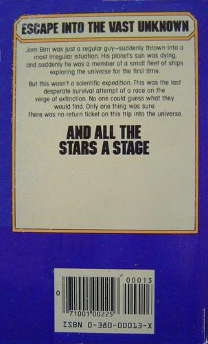 And All the Stars a Stage James Blish Avon-back-small