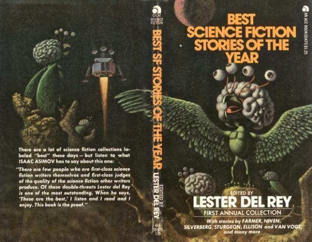 Best Science Fiction Stories of the Year 1 Lester del Rey