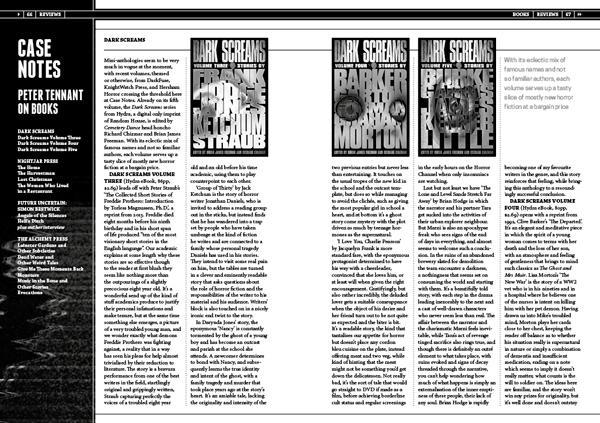 Black Static 50 Book Reviews