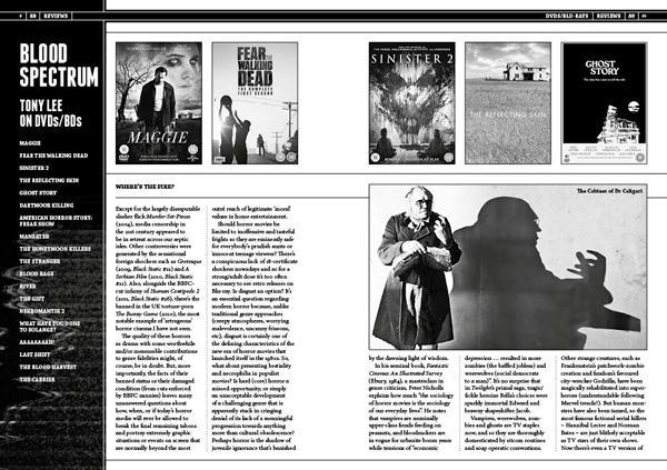 Black Static 50 DVD Reviews