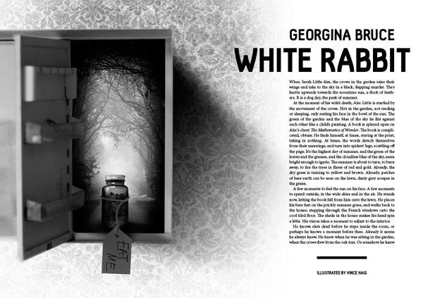 Black Static 50 White Rabbitt